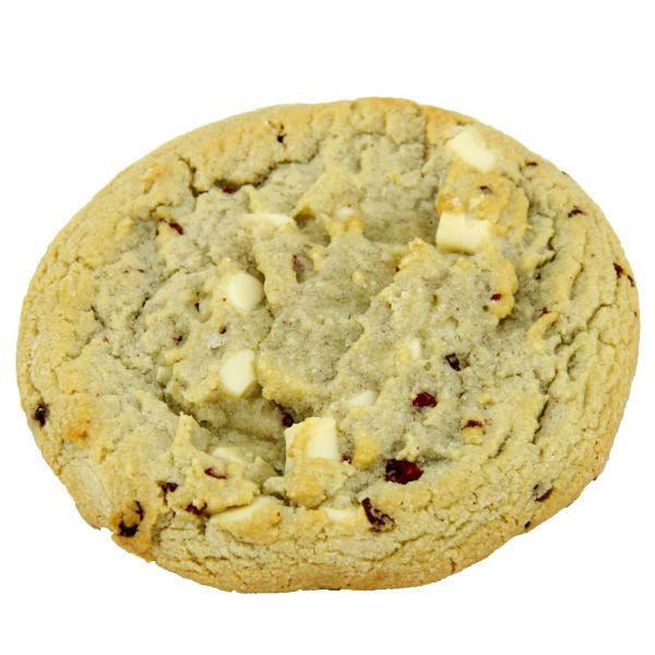 White Chocolate Cookie with Raspberry