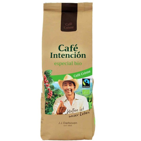 Fairtrade Bio Cafe Intencion especiál Kaffee 100% Arabica Bohnen 500g